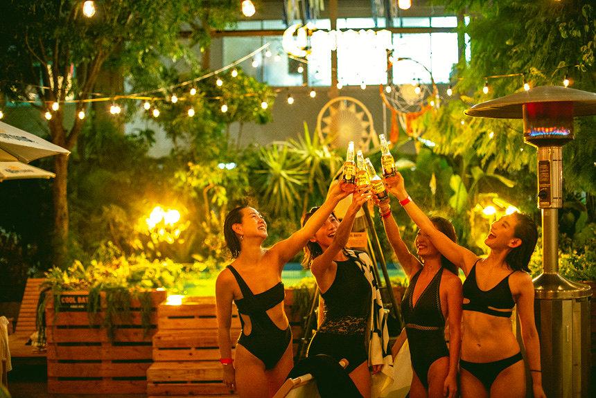 下北沢のアウトドアサウナで女性限定『ガールズナイトサウナ』開催