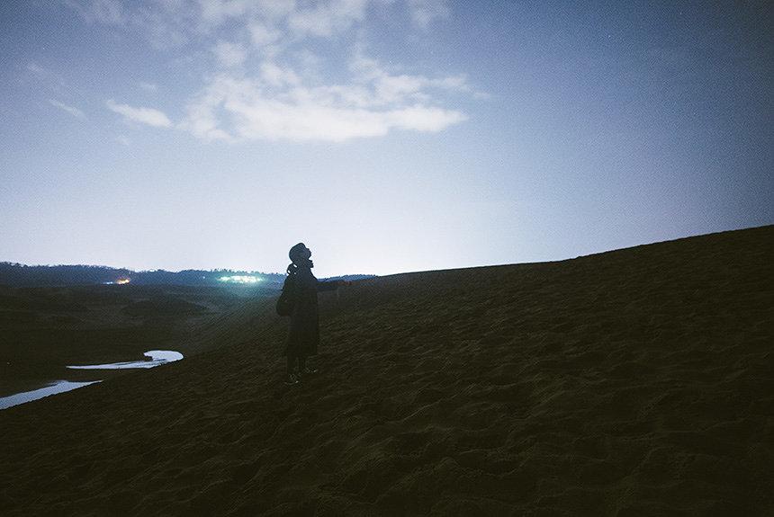 流れ星を見に鳥取砂丘へ。雨の鳥取観光旅行に奇跡は起きるか?