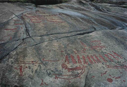 ルーン文字の石碑(撮影:田附勝)
