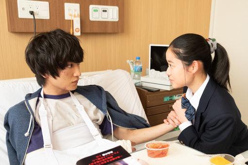 金子大地演じる主人公・純と、藤野涼子演じる三浦さん
