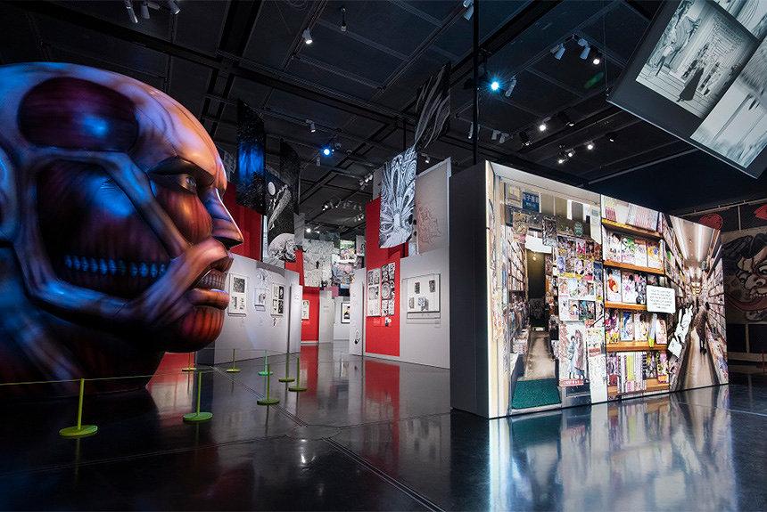 大英博物館でマンガ展が開幕、井上雄彦『リアル』モチーフの描き下ろし作も