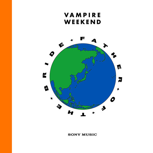 Vampire Weekend『Father Of The Bride』日本盤ジャケット
