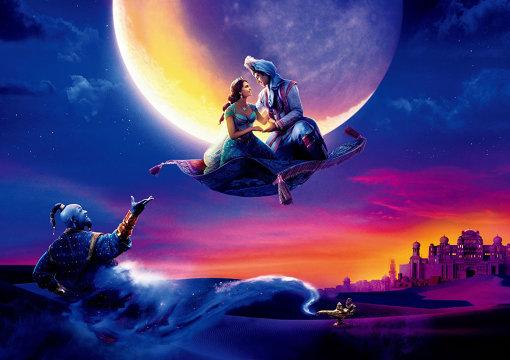 ディズニーによる実写映画『アラジン』 ©2019 Disney Enterprises, Inc. All Rights Reserved.