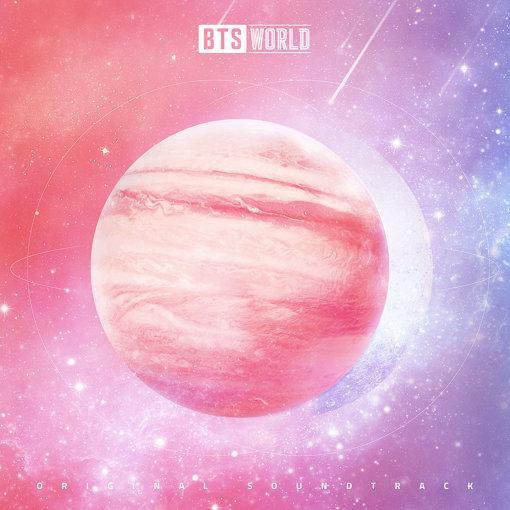 『BTS WORLD (Original Soundtrack)』ジャケット ©Big Hit Entertainment. ©Netmarble Corp. & Takeone Company. All Rights Reserved.