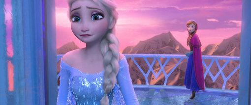 2013年公開の『アナと雪の女王』。日本では興行収入約255億円、観客動員約2000万人を記録 ©Disney