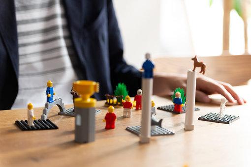 小国さんが作ったレゴの世界