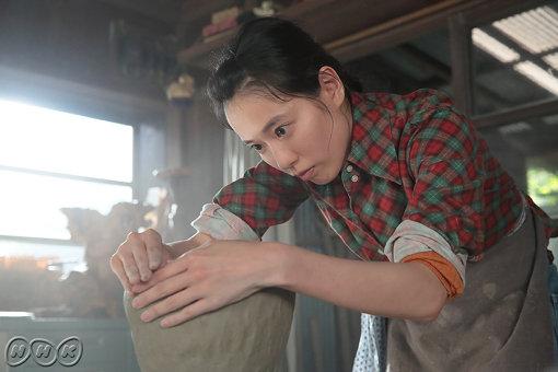 『スカーレット』でヒロイン・川原喜美子役を演じる戸田恵梨香(画像提供:NHK)