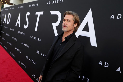 『アド・アストラ』アメリカプレミアに登壇したブラッド・ピット ©2019 Twentieth Century Fox Film Corporation