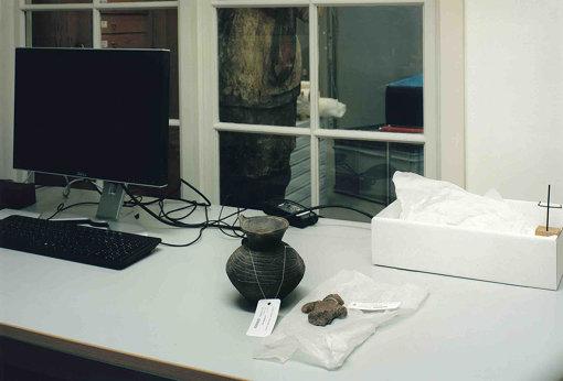 東洋博物館に収蔵されている縄文土器