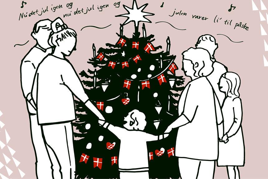 デンマークでの冬の過ごし方 甘いミルク粥を頬張るクリスマス