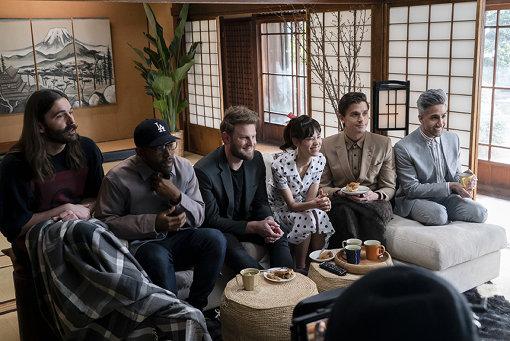 『クィア・アイ in Japan!』より。ファブ5のベース基地は古民家に設置されたBruce Yamakawa/Netflix