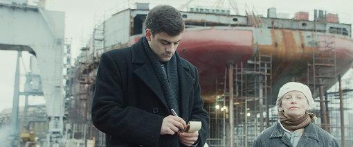 ミラン・マリチが演じるドヴラートフ /『ドヴラートフ レニングラードの作家たち』場面写真 ©2018 SAGa/ Channel One Russia/ Message Film/ Eurimages