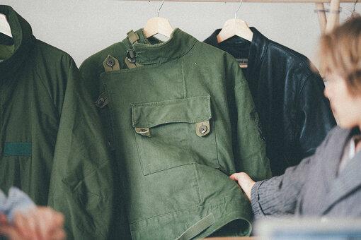 1960年代製のスウェーデン軍のモーターサイクルジャケット(きうてぃさん私物)