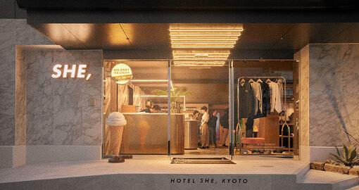 京都・九条にあるホテル「HOTEL SHE, KYOTO」