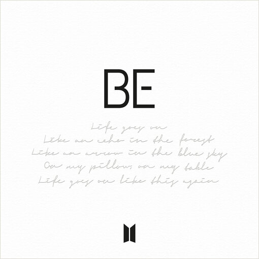11月20日にリリースされたBTS『BE』ジャケット