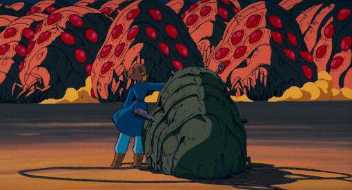 宮崎駿監督『風の谷のナウシカ』(1984) © 1984 Studio Ghibli・H