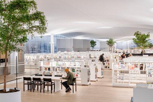 ヘルシンキ中央図書館「Oodi」内観 Photo: Kuvio