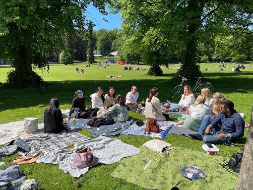 スウェーデンでの大学生活の様子(写真:筆者提供)