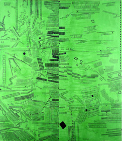 《The City (Green No.1)》1968年  ©:公益財団法人ミモカ美術振興財団