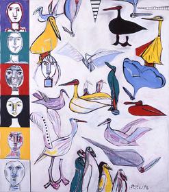 《飛ぶ日のよろこび》1993年  ©:公益財団法人ミモカ美術振興財団