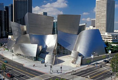 ウォルト・ディズニー・コンサートホール アメリカ・ロサンゼルス 2003 Image Courtesy of Gehry Partners, LLP