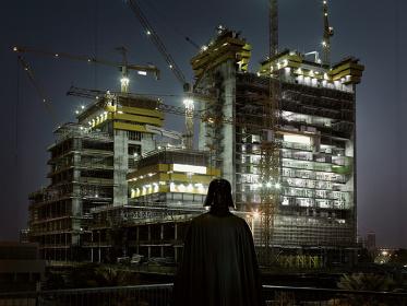 Dark Lens, Darth Vader, Dubai, 2009 © Cédric Delsaux