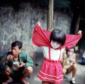 『太陽の鉛筆』 撮影:1973年 撮影地:台湾・基隆
