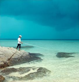 『太陽の鉛筆』 撮影:1973年 撮影地:阿嘉島