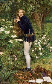 エレノア・フォーテスク=ブリックデール 『小さな召使い(乙女エレン)』 1905年に最初の出品 油彩・カンヴァス © Courtesy National Museums Liverpool, Walker Art Gallery