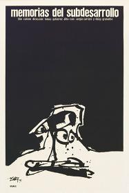 『低開発の記憶』(1968年/キューバ/トマス・グティエレス・アレア監督)ポスター:アントニオ・サウラ(1968年)