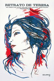 『テレサの肖像』(1979年/キューバ/パストル・ベガ監督)ポスター:セルバンド・カブレラ・モレノ(1979年)