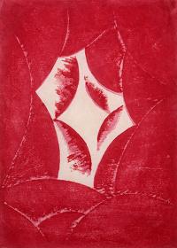 『抒情「あかるい時」』1915、木版・紙、東京国立近代美術館