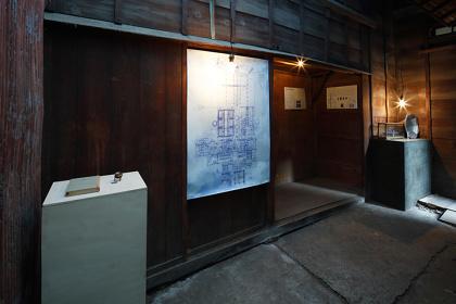 久保ガエタン『記憶の遠近法』展示風景 撮影:木奥惠三