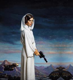 ダニエル・E・グリーン『プリンセス・レイア』 ©&™ Lucasfilm Ltd.