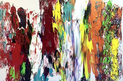 門田光雅『10 colors』2015, Gallery PSYS