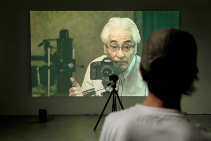 曽根光輝『写場』2014, Gallery UDONOS
