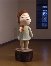 奈良美智『ハートに火をつけて』2001年©Yoshitomo Nara, Courtesy of the artist