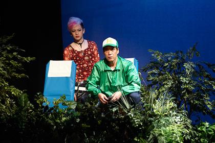 北九州芸術劇場プロデュース『彼の地』 撮影:重松美佐