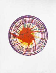『Round』 2002 etching  sheet size: 91.5 x 71.0cm ©Damien Hirst