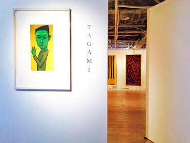 『仙人になりたいんです』TAGAMI展 展示風景