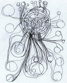 『6-4-1』 15.1 x 12.24cm, pencil on paper
