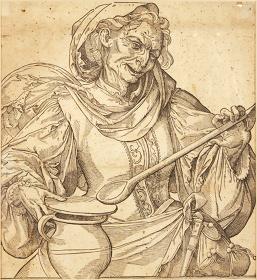『魔女』 16世紀末 ザンクト・パウル、ベネディク修道会財団 ©Museum im Benediktinerstift St. Paul