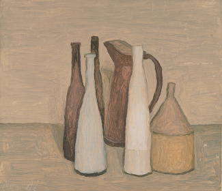 『静物』1951年 モランディ美術館(ボローニャ) ©Sergio Buono, Bologna