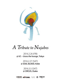 『A Tribute to Nujabes』フライヤービジュアル