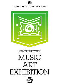 『SPACE SHOWER MUSIC ART EXHIBITION』ロゴ