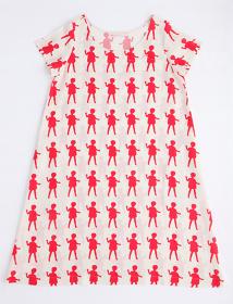 ミントデザインズ プリントドレス  ©mintdesigns
