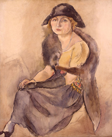 ジュール・パスキン《ギカ公女》1921年 油彩/カンヴァス 公益財団法人ひろしま美術館