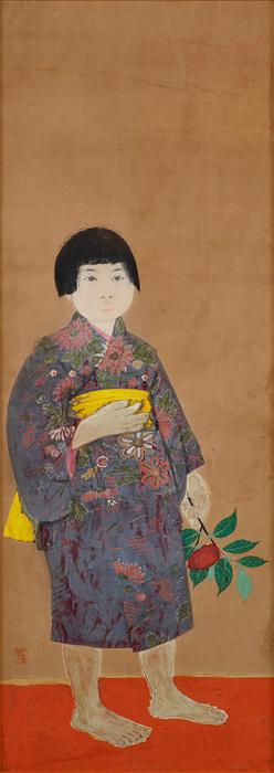 田中青坪『少女』昭和7(1932)年 個人蔵