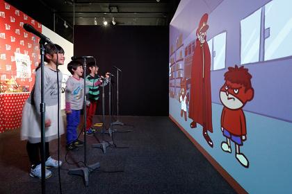 『アニメがうごく~アニメーション創造の現場~』展示風景 ©DLE
