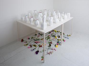 『ONE OFF DESIGN_FAKE VASES FOR FAKE FLOWERS』2014